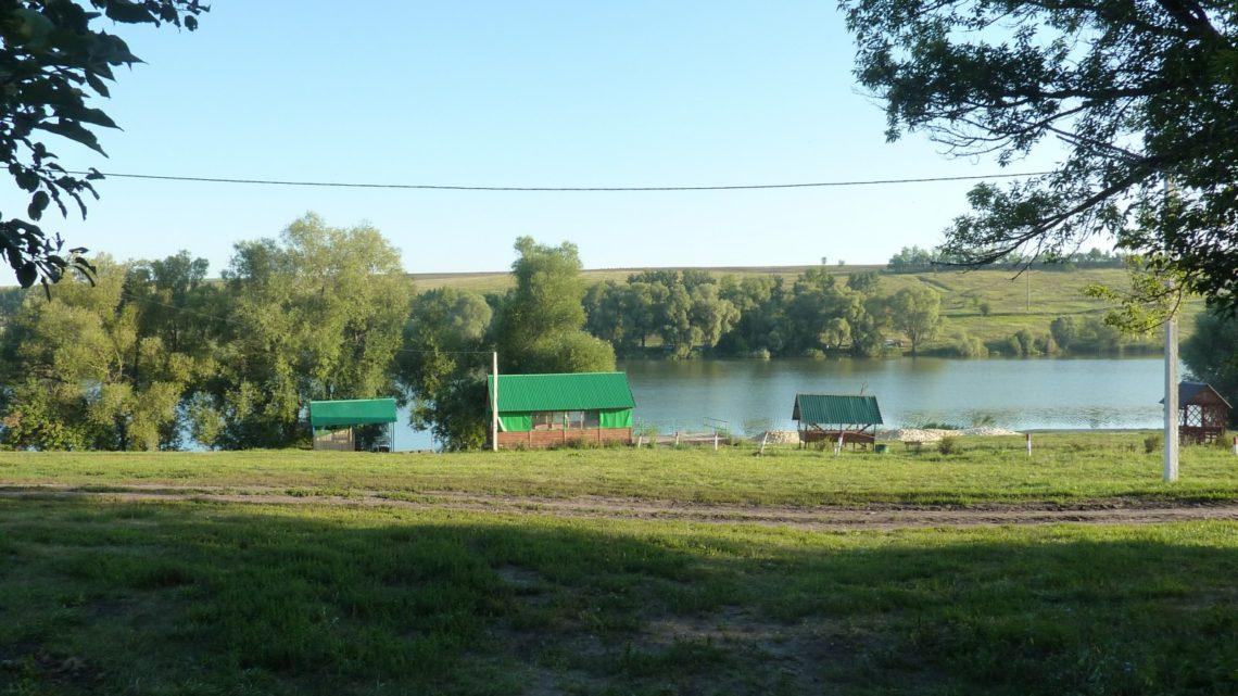 Ивановский пруд в Хохольском районе Воронежской области