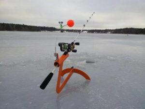 рыболовные снасти для зимней рыбалки на течении