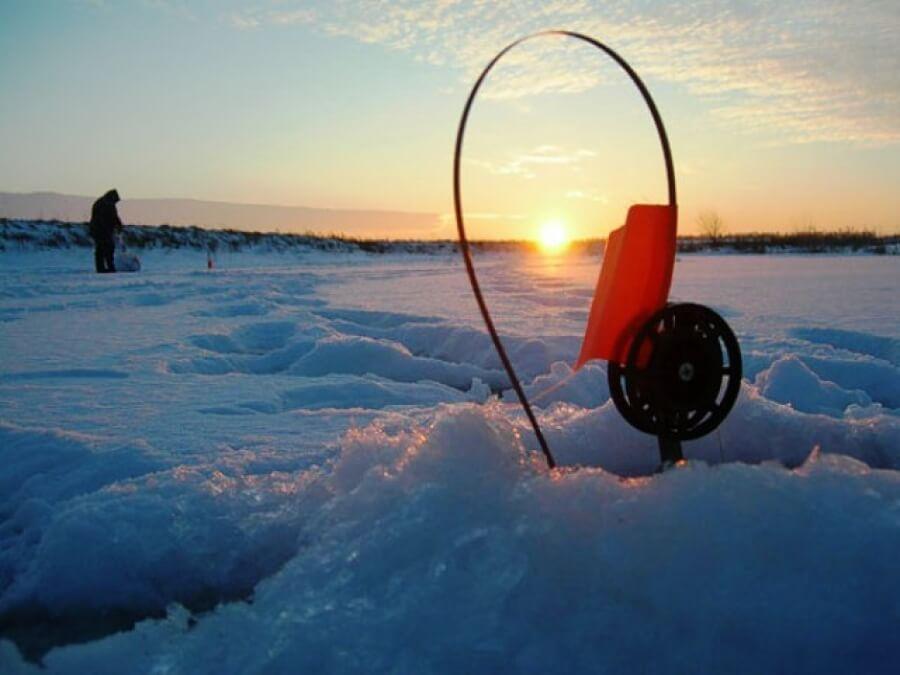 Ловля на жерлицу зима