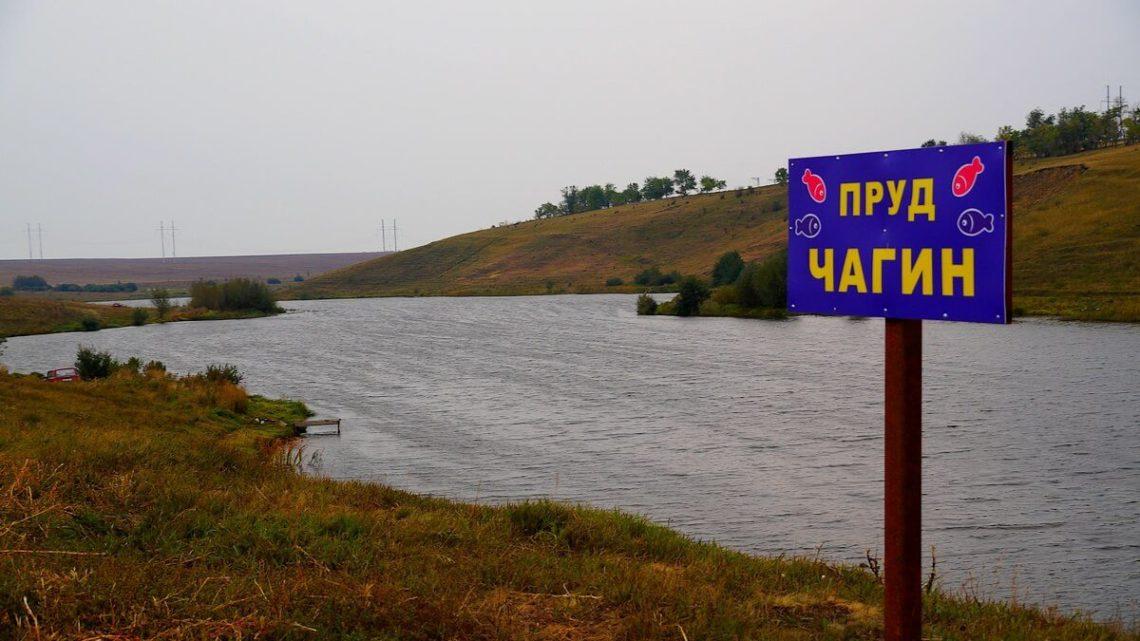 Пруд Чагин в Меловатке Воронежской области