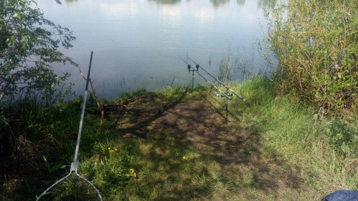 Комсомольский пруд Правая Хава
